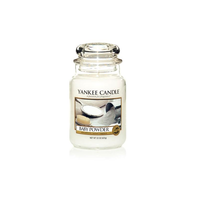 YANKEE CANDLE, Duftkerze Baby Powder large Jar (623g)_38178