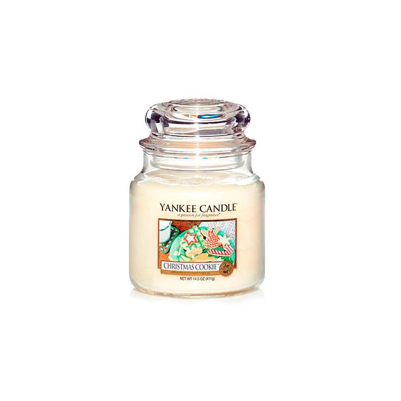 YANKEE CANDLE, Duftkerze Christmas Cookie, medium Jar (411g)_38182