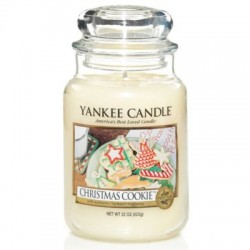 YANKEE CANDLE, Duftkerze Christmas Cookie, large Jar (623g)_38184