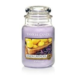 YANKEE CANDLE, Duftkerze Lemon Lavender, large Jar (623g)_38214