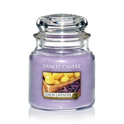 YANKEE CANDLE, Duftkerze Lemon Lavender, medium Jar (623g)_38216