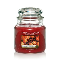 YANKEE CANDLE, Duftkerze Mandarin Cranberry, medium Jar (411g)_38222