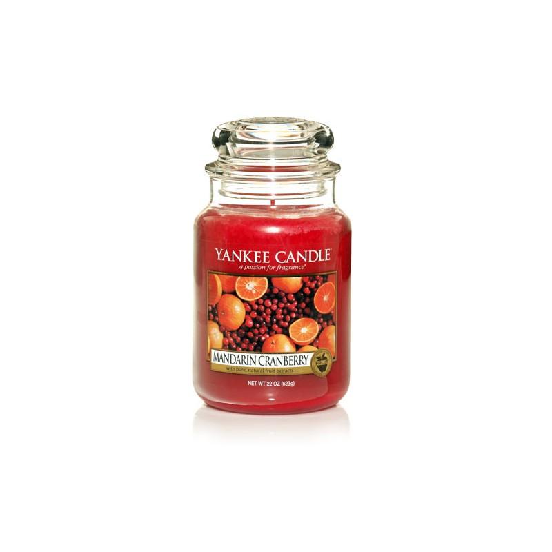 YANKEE CANDLE, Duftkerze Mandarin Cranberry, large Jar (623g)_38224
