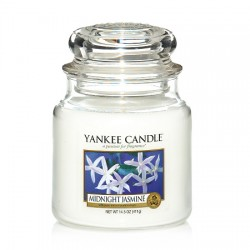YANKEE CANDLE, Duftkerze Midnight Jasmine, medium Jar (411g)_38228