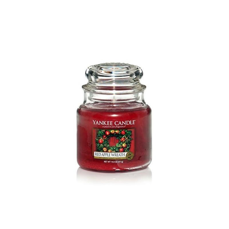 YANKEE CANDLE, Duftkerze Red Apple Wreath, medium Jar (411g)_38230