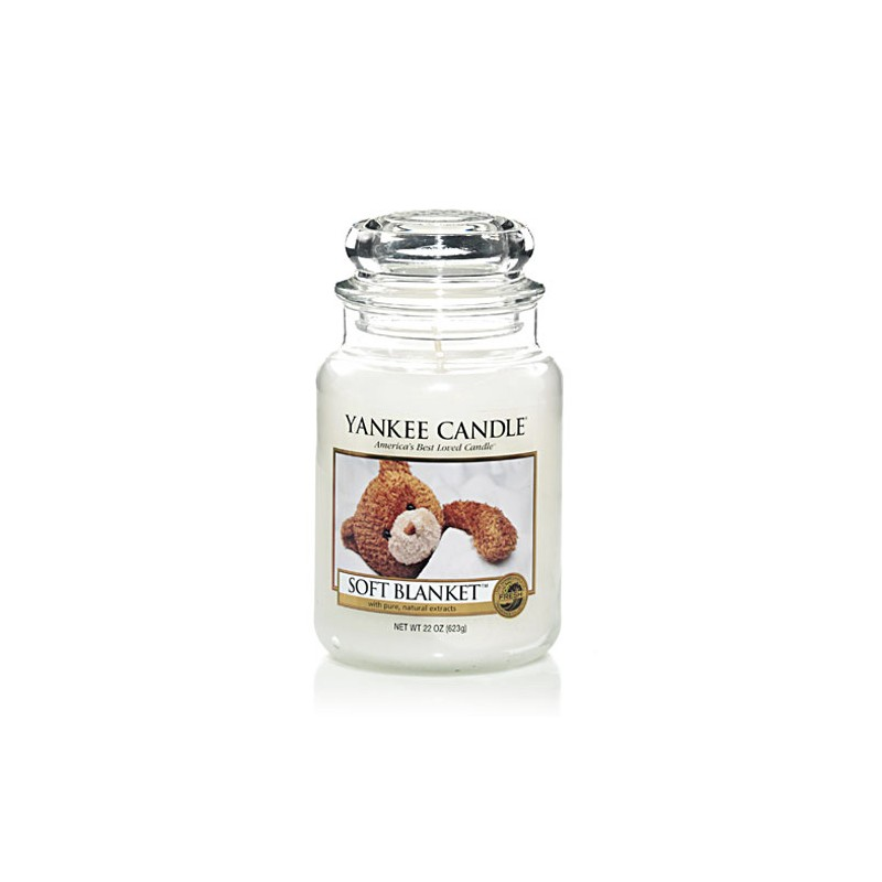 YANKEE CANDLE, Duftkerze Soft Blanket, large Jar (623g)_38242
