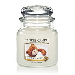 YANKEE CANDLE, Duftkerze Soft Blanket, medium Jar (411g)_38244