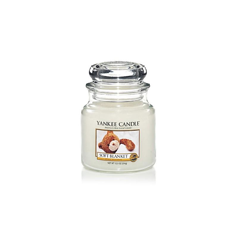 YANKEE CANDLE, Duftkerze Soft Blanket, medium Jar (411g)_38244