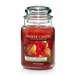 YANKEE CANDLE, Duftkerze Spiced Orange, large Jar (623g)_38256