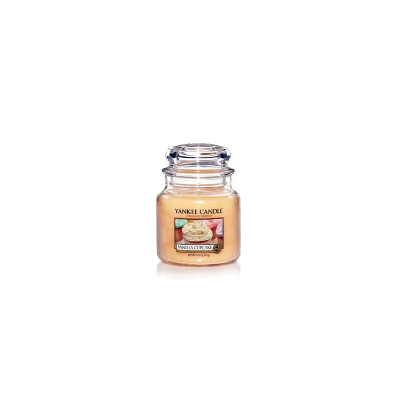 YANKEE CANDLE, Duftkerze Vanilla Cupcake, medium Jar (411g)_38262