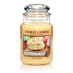 YANKEE CANDLE, Duftkerze Vanilla Cupcake, large Jar (623g)_38264