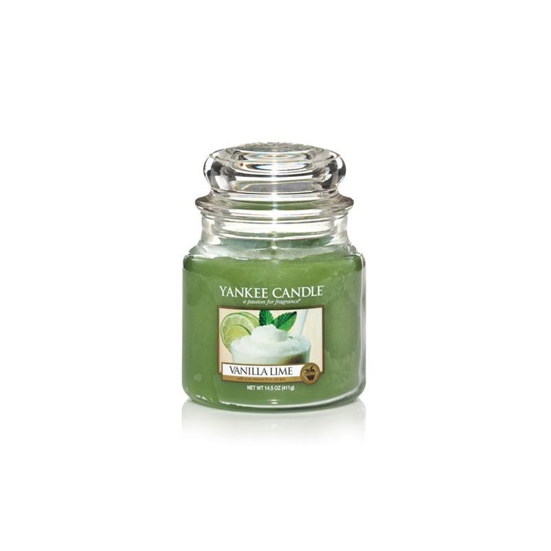 YANKEE CANDLE, Duftkerze Vanilla Lime, medium Jar (411g)_38268