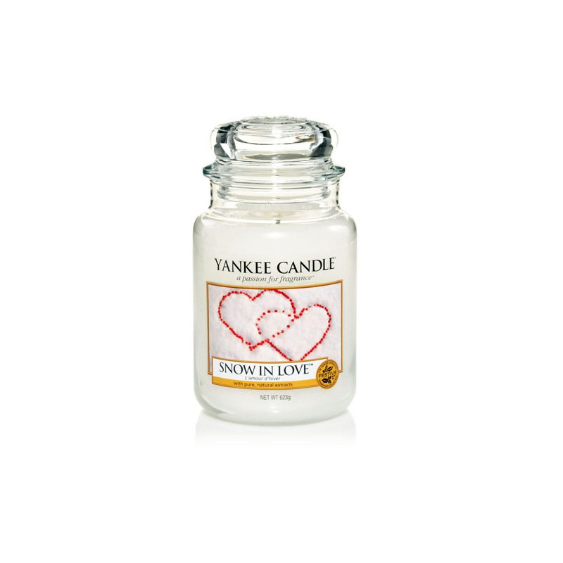 YANKEE CANDLE, Duftkerze Snow in Love, large Jar (623g)_38280