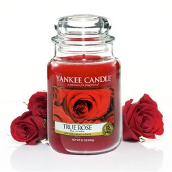 YANKEE CANDLE, Duftkerze True Rose, large Jar (623g)_38325