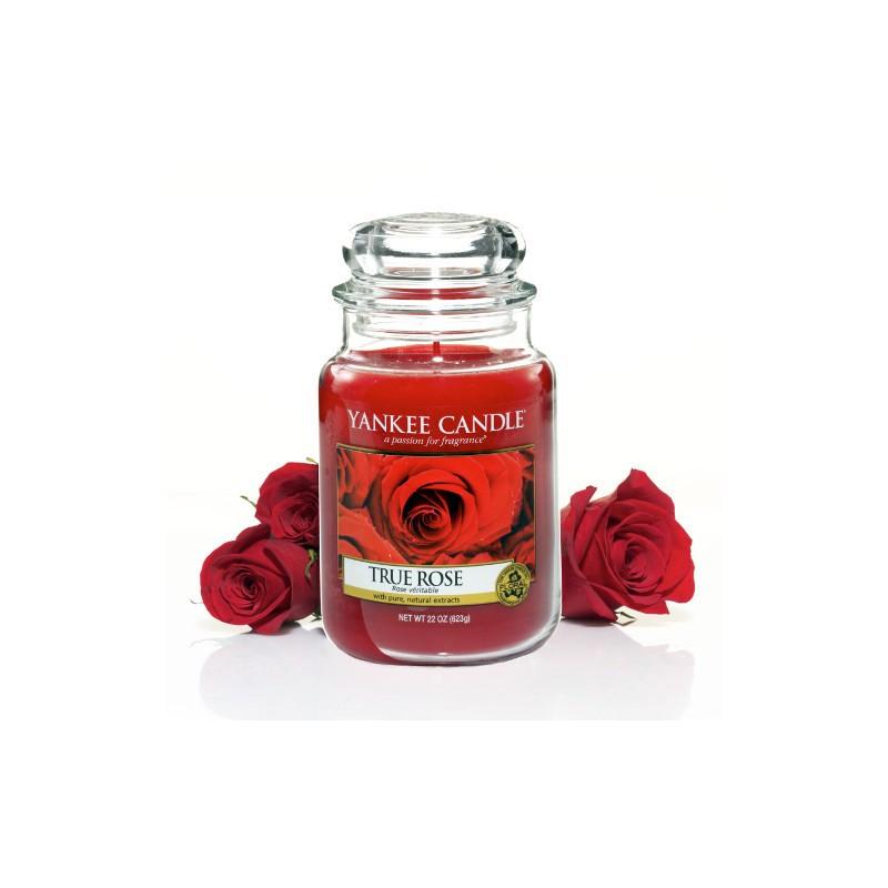 YANKEE CANDLE, Duftkerze True Rose, large Jar (623g)_38325