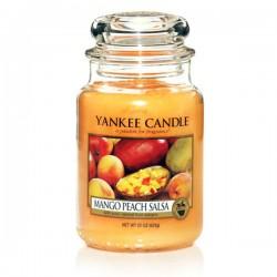 YANKEE CANDLE, Duftkerze Mango Peach Salsa, large Jar (623g)_38353
