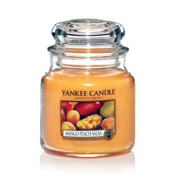 YANKEE CANDLE, Duftkerze Mango Peach Salsa, medium Jar (411g)_38355