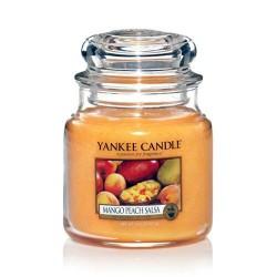 YANKEE CANDLE, Duftkerze Mango Peach Salsa, medium Jar (411g)_38355