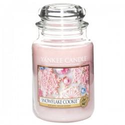 YANKEE CANDLE, Duftkerze Snowflake Cookie, large Jar (623g)_38417