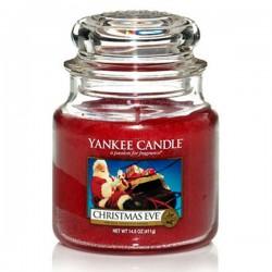 YANKEE CANDLE, Duftkerze Christmas Eve, medium Jar (411g)_38452