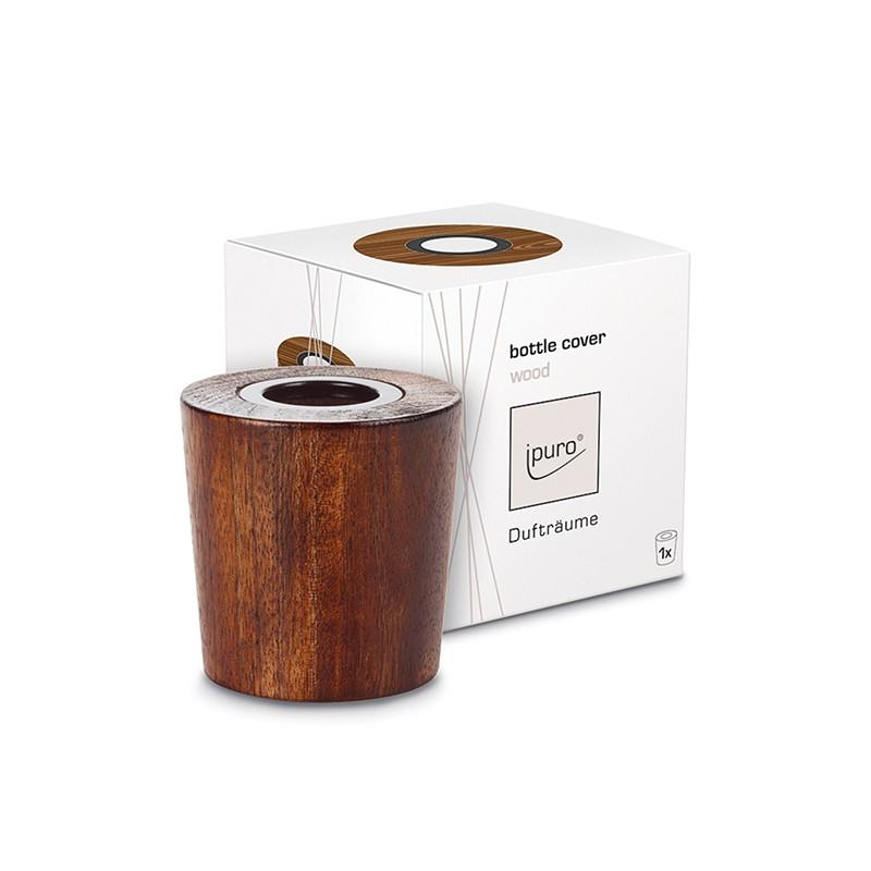 IPURO: Aufsatz Bottle Cover Wood Brown für 240ml_38593