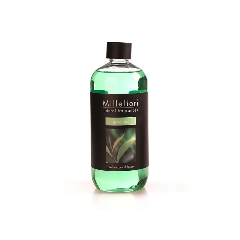 MILLEFIORI Natural: Nachfüll-Flasche, Duft GREEN TEA, 500ml_38703