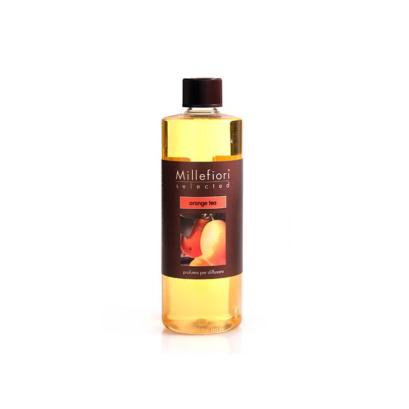 MILLEFIORI Selected: Nachfüll-Flasche, Duft ORANGE TEA, 500ml_38720