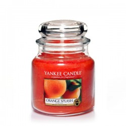 YANKEE CANDLE, Duftkerze Orange Splash, medium Jar (411g)_38877