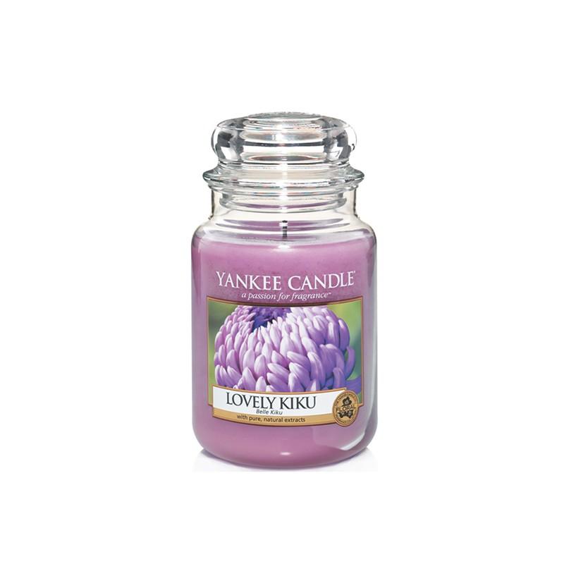 YANKEE CANDLE, Duftkerze Lovely Kiku, large Jar (623g)_38895