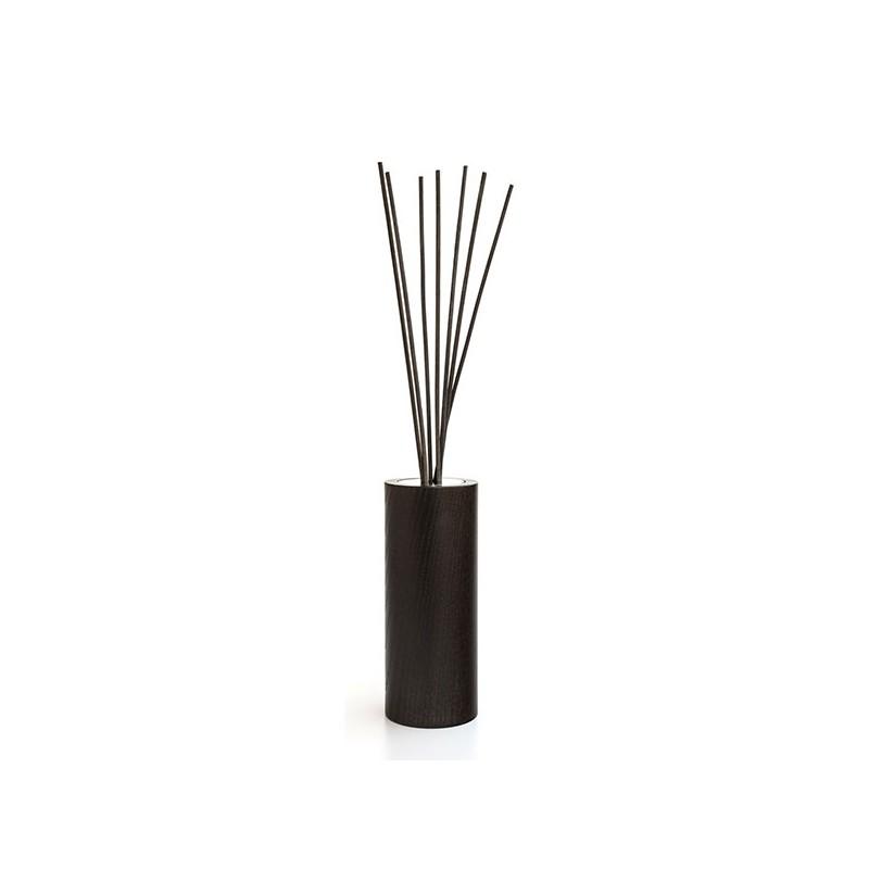 MILLEFIORI: Nachfüll-Flaschen-Halter WOOD AIR DESIGN CYLINDER, braun, für 250ml_39220