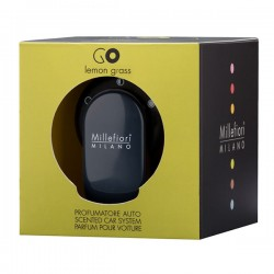 MILLEFIORI Car Air Freshener GO, Lemon Grass_39573
