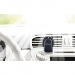 MILLEFIORI Car Air Freshener GO, Viola (Halter und 1 Duftkapsel Sandolo Bergamotto)_39605