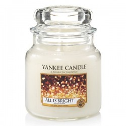 YANKEE CANDLE, Duftkerze All is Bright, medium Jar (411g)_39801