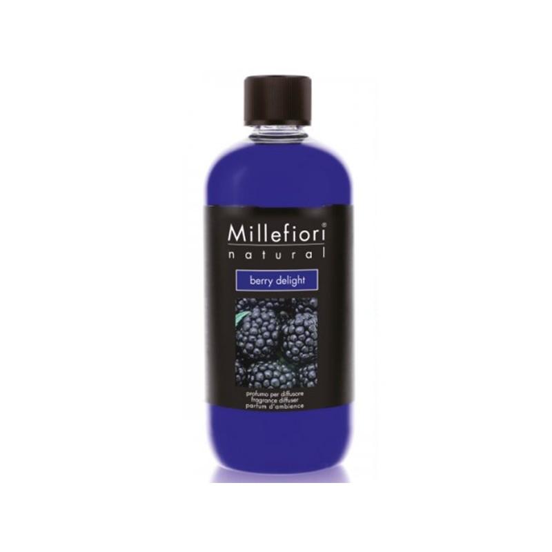MILLEFIORI Natural: Nachfüll-Flasche, Duft BERRY DELIGHT, 500ml_39830