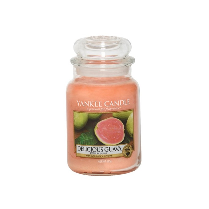 YANKEE CANDLE, Delicious Guava, large Jar (623g)_39871