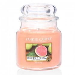 YANKEE CANDLE, Duftkerze Delicious Guava medium Jar (411g)_39874