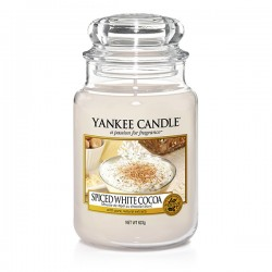 YANKEE CANDLE, Spiced White Cocoa, large Jar (623g)_39924