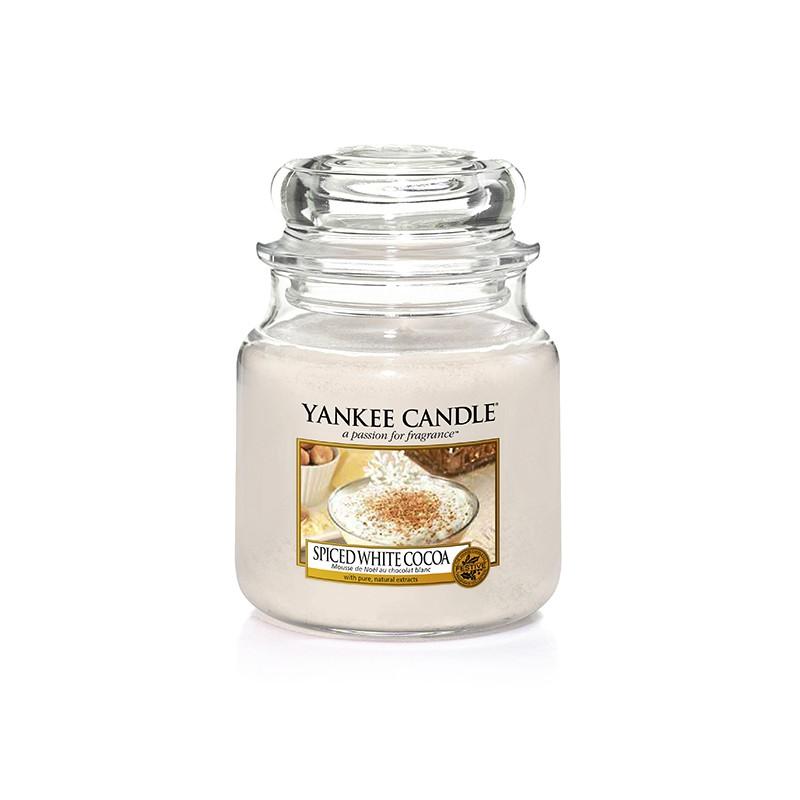 YANKEE CANDLE, Spiced White Cocoa, medium Jar (411g)_39927